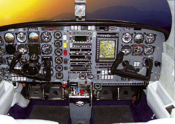 Piper Malibu DLX MT Cockpit (1997)