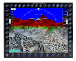 MT TAWS: Terrain Alert Warning System and worldwide digital terrain model